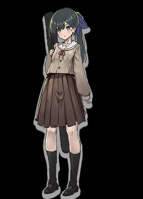 三剣ミコト 制服 2d ver